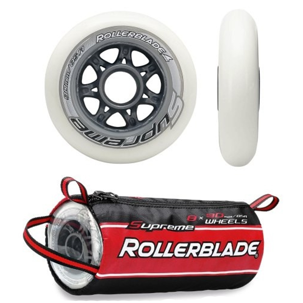rollerblade supreme wheels 90 mm 85a 8-pack