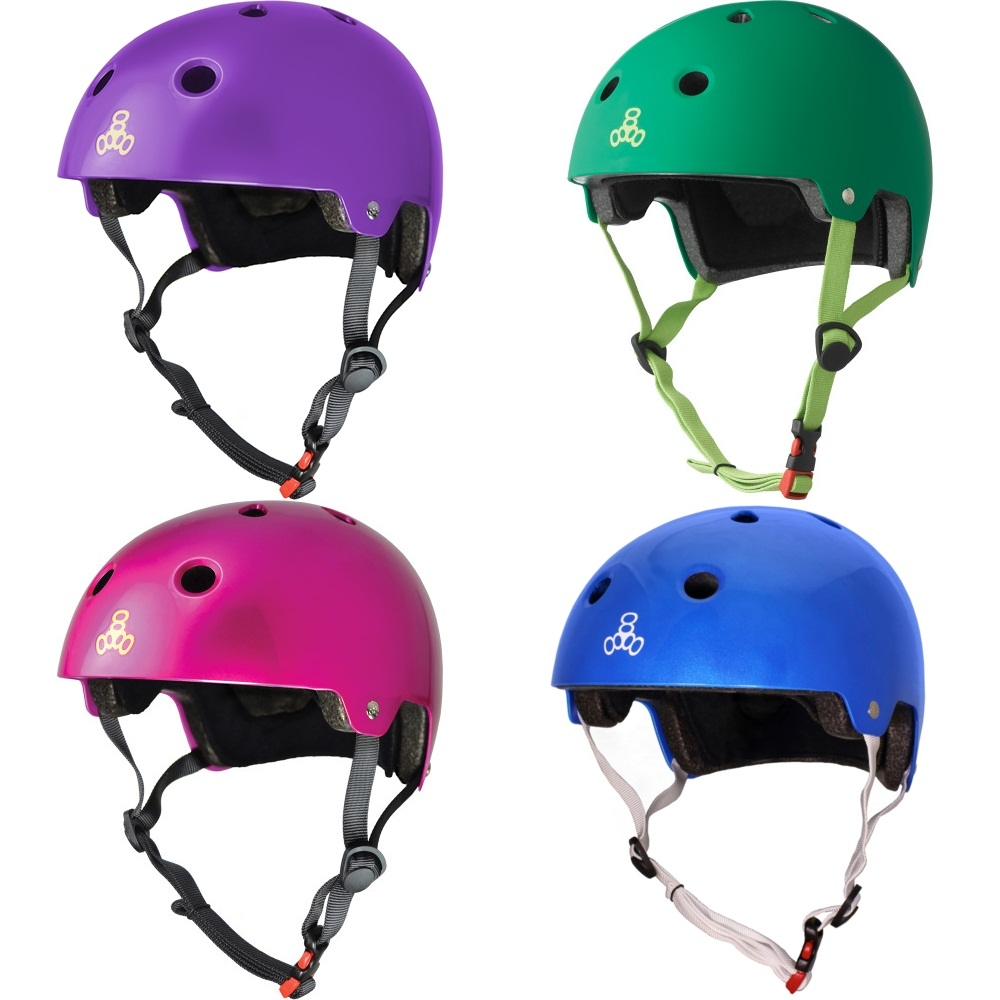 Детские шлемы Triple Eight Brainsaver Dual Certified Helmet