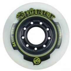 Колеса для роликових ковзанів powerslide spinner wheels 84 mm 4-pack