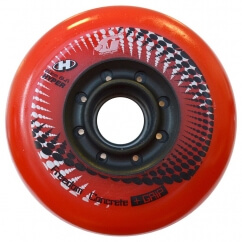 Колеса для роликових ковзанів Hyper concrete + grip red