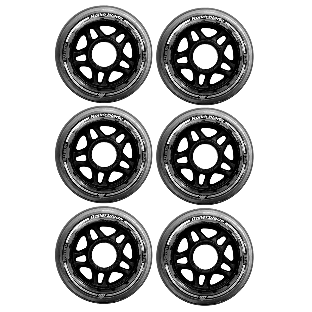 колеса Rollerblade Wheels 80mm 82A 6-pack — <Фото №5>