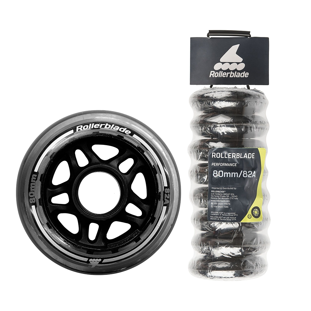 Rollerblade wheels 80mm 82A 8-pack — <Фото №1>